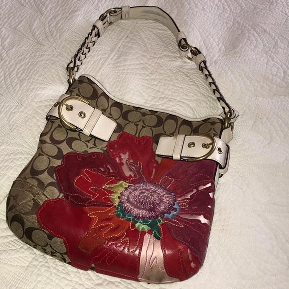 Coach bags poppy flower handbag poshmark coach poppy flower handbag mightylinksfo